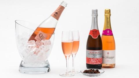 Bons espumantes rosé até 5 euros