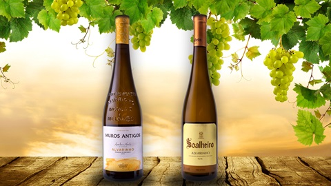2 garrafas de vinho Alvarinho para a Páscoa