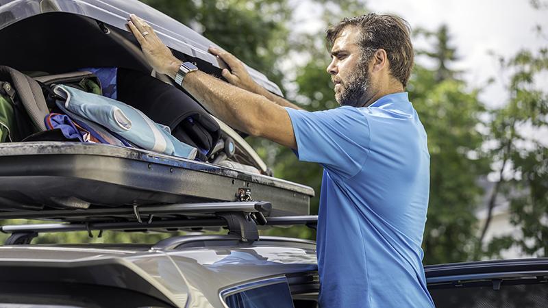 Imagem Transportar bagagem no carro em segurança