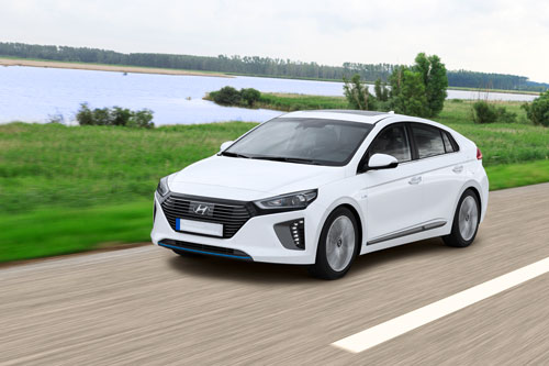 Hyundai Ioniq Electric com cinco estrelas do Green NCAP