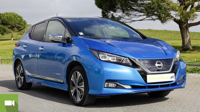 Nissan Leaf carro elétrico