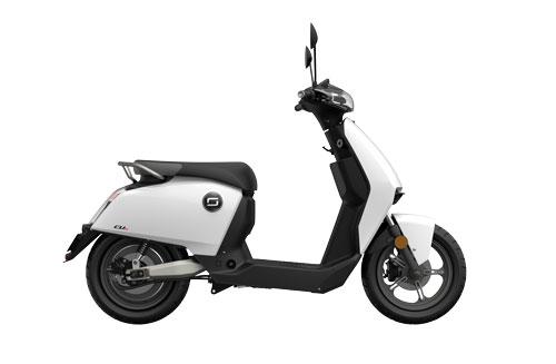 Super Soco CUX com autonomia de 80 quilómetros.