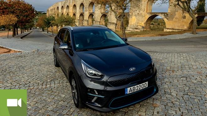 Imagem Volta a Portugal de carro 100% elétrico