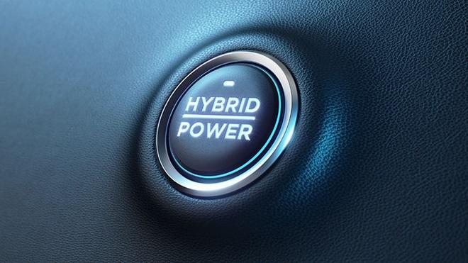 Botão power híbrido