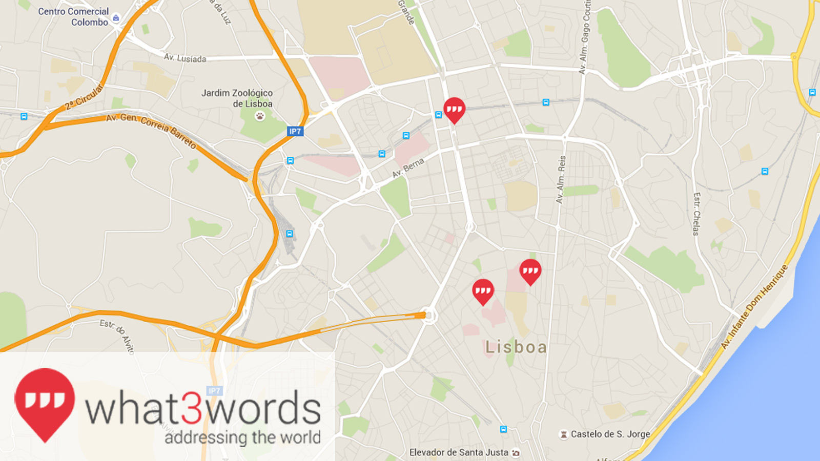 GPS what3words