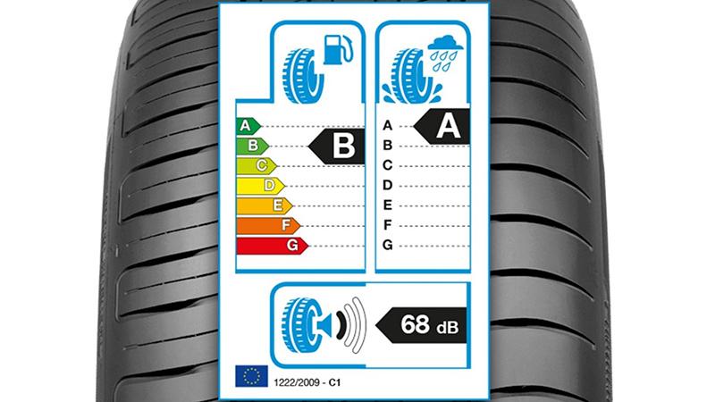 Imagem O significado da etiqueta europeia dos pneus