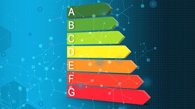 Nova escala da etiqueta energética de A a G