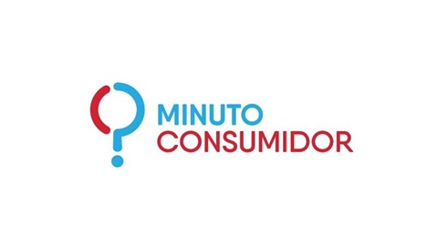 Logo da rubrica Minuto Consumidor uma parceria da DECO PROTESTE com a SIC Notícias e o Expresso.