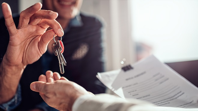 Contrato de promessa de compra e venda de um imóvel