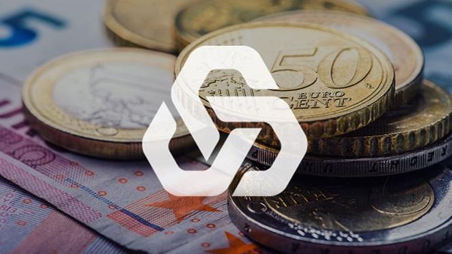 moedas de euros com o símbolo da CGD
