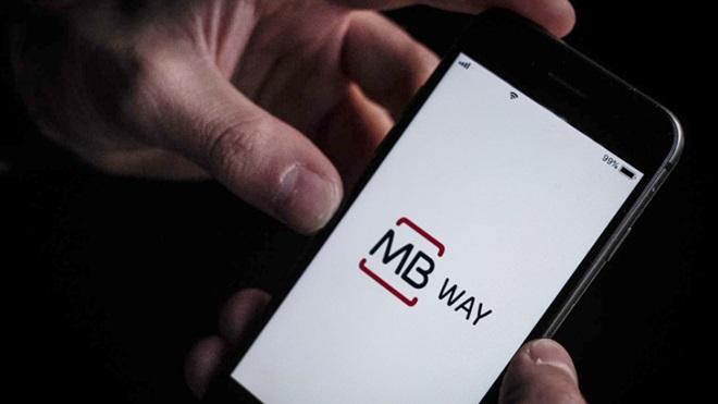 App MB Way em ecrã de smarphone