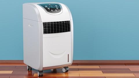 Modelo de ar condicionado portátil