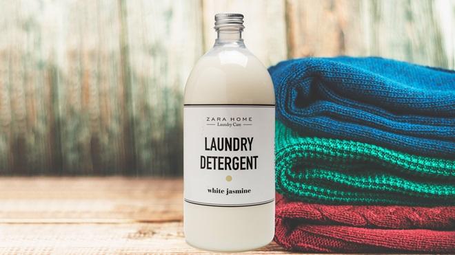 Rótulo do detergente para roupa da Zara Home tem problemas de segurança