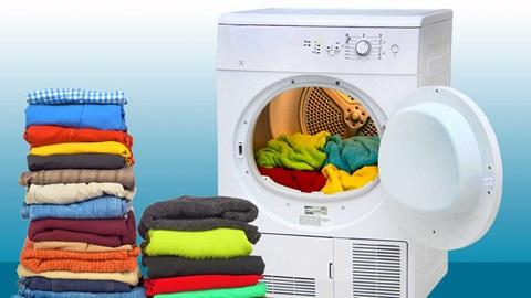 Máquina de secar roupa - como testamos