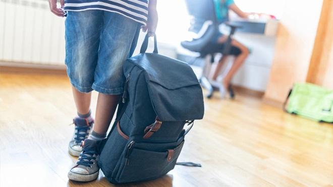 Peso das mochilas das crianças
