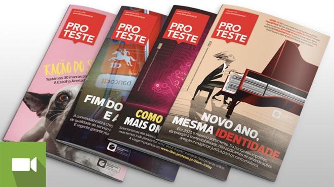 quatro capas da revista proteste líder de audiências em portugal