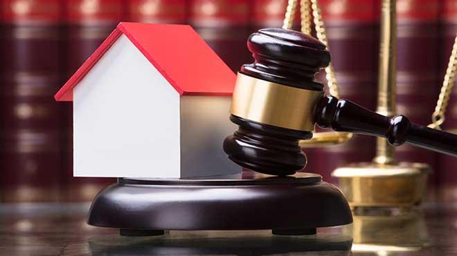 Penhora da casa: martelo do tribunal