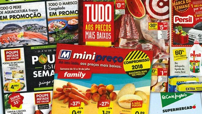 folhetos supermercados