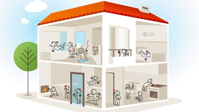 casa segura crianças