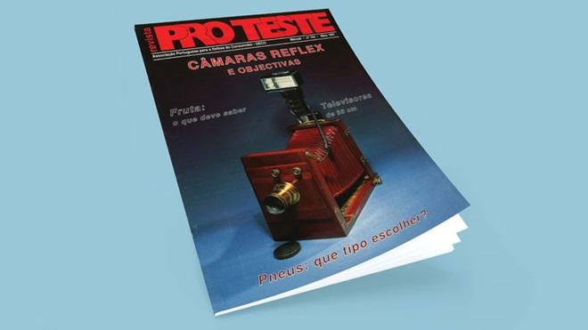 capa da revista Proteste n.º 104, maio de 1991