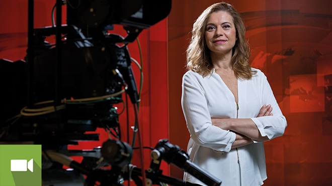 Conceição Lino jornalista e apresentadora de televisão SIC