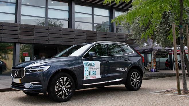 automóvel volvo carro visões do futuro