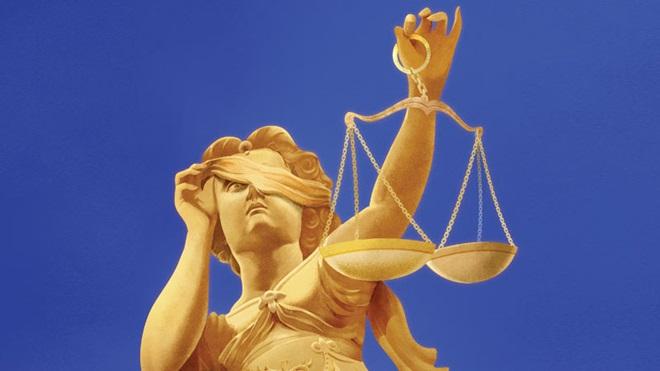deusa da justiça: confiança nas instituições
