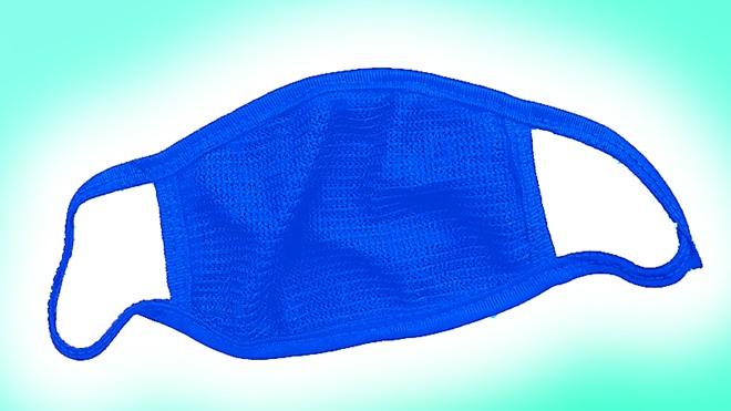 Máscaras de tecido caseiras