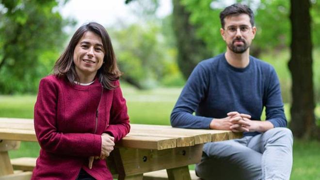 Sónia Dias e Cristiano Figueiredo, os entrevistados