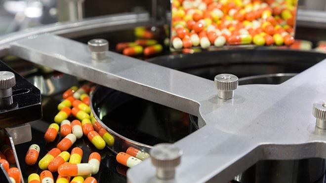 Medicamentos a serem produzidos numa fábrica