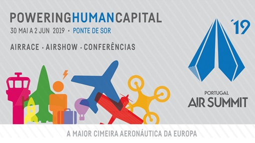 portugal air summit cartaz ponte de sor drones