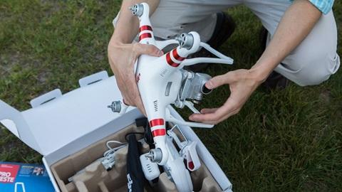 Teste DECO a drones