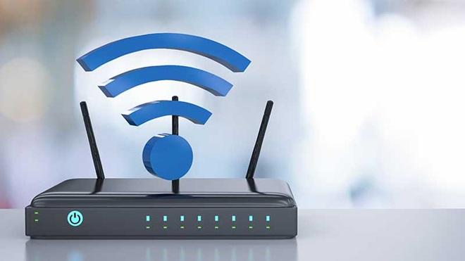 Router com sinal de wi-fi