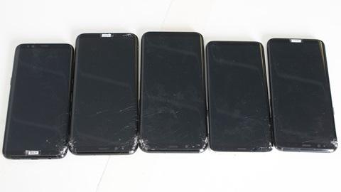 Samsung S8 and S8+ pouco resistentes a quedas