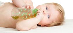 mel e cha de ervasfazem mal ao bebes