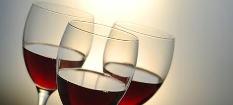 beber vinho com moderação