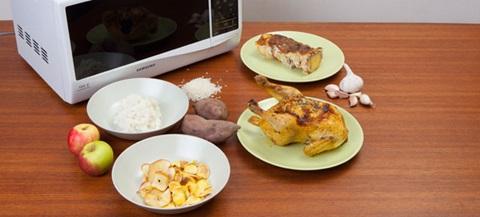 Receitas rápidas e saborosas para cozinhar no micro-ondas.