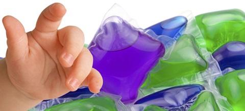 cápsulas de detergente