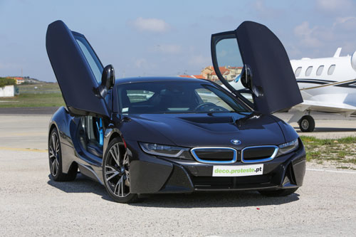 BMW i8 com estreia aprovada: abrimos as portas do futuro.