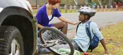 Bicicletas acidente