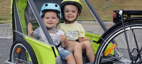 Dicas para escolher cadeiras de bicicleta para criança.