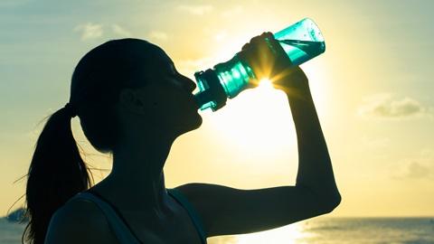hidratação durante o exercício