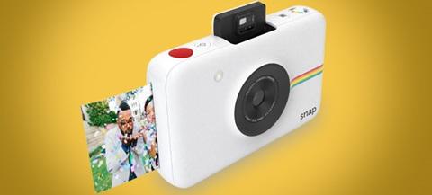 Primeiras impressões sobre a nova máquina fotográfica Polaroid Snap.