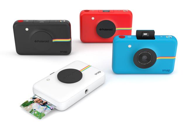 0ab234e76aad9 A Polaroid lançou a câmara digital Snap com impressão de fotografia  integrada.