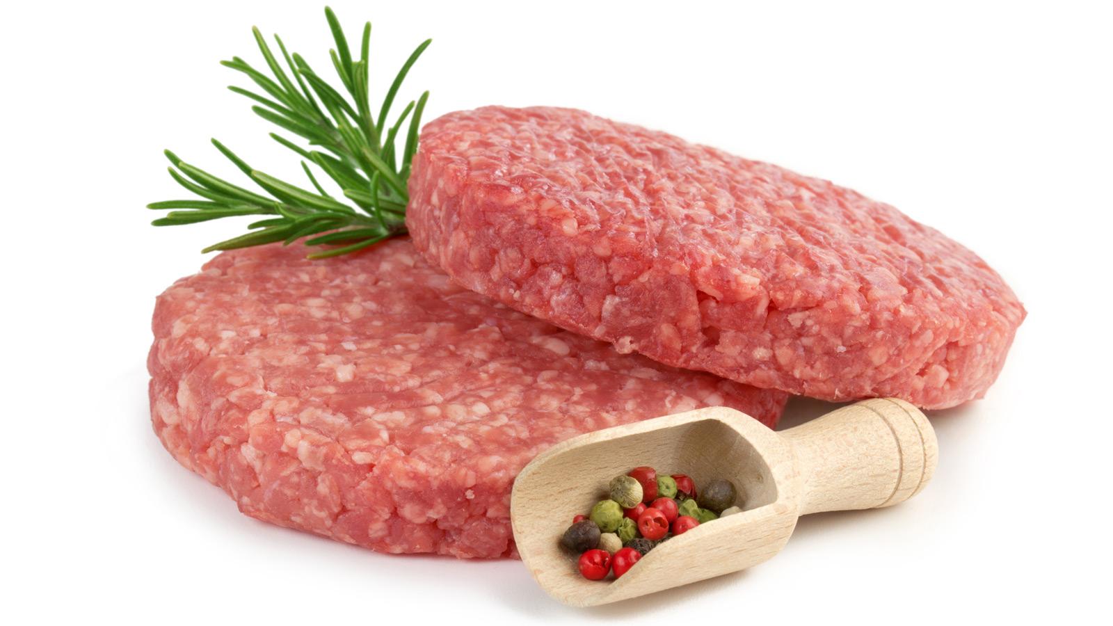 Hambúrgueres e carne picada