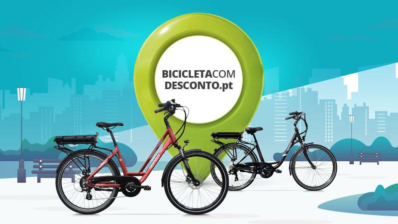 bicicletas elétricas com desconto Neomouv