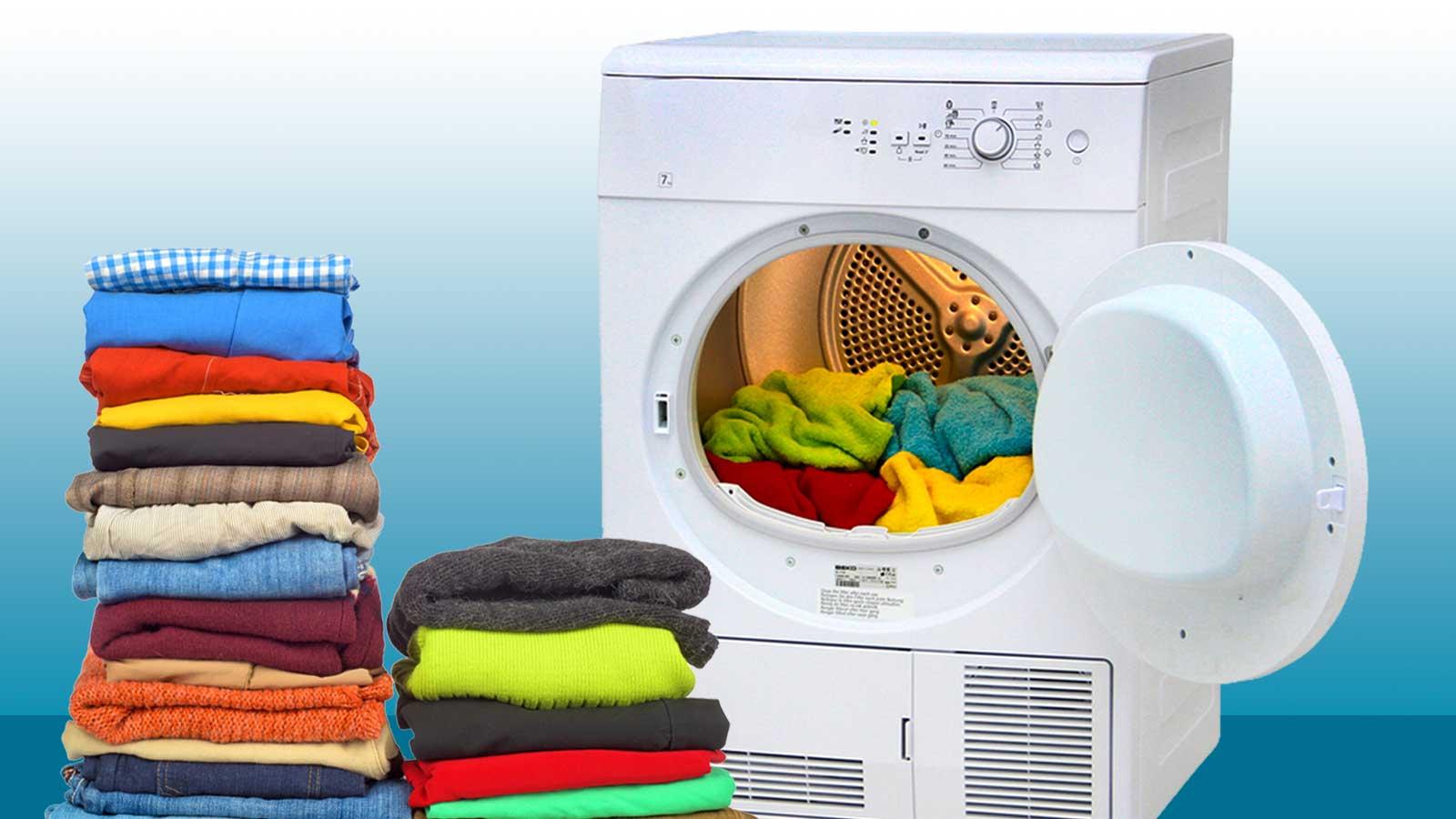Como testamos máquinas de secar roupa