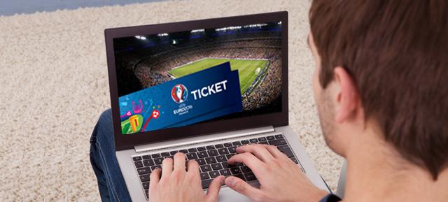 Alguns sites não oficiais vendem bilhetes falsos para o EURO 2016 por milhares de euros. Evite-os e prefira sempre as plataformas da UEFA.