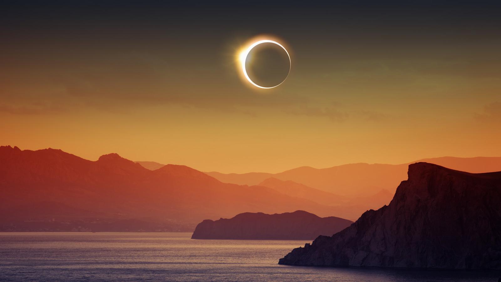 observar eclipse solar