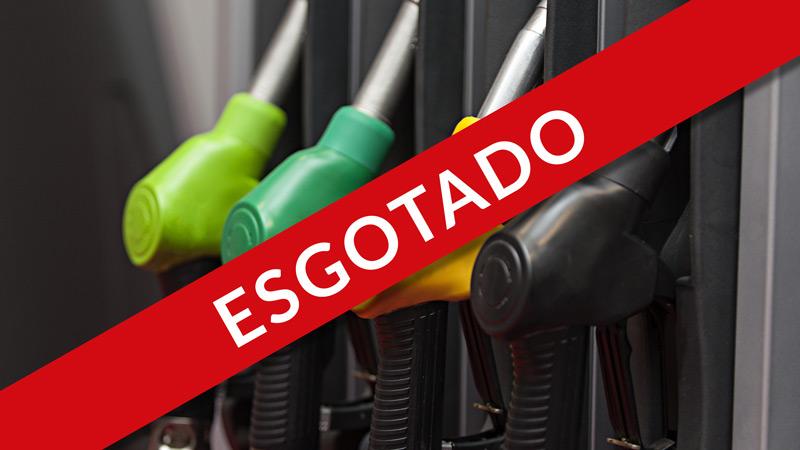 gasolina esgotada